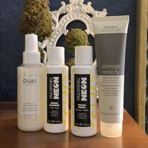 Luxury hair care products bundle. 🧡⭐️🎊🙍🏻♀️